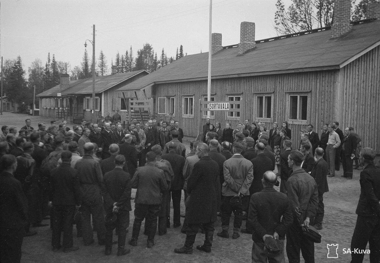 22 сентября 1944 года. Станция Сортавала