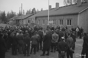 September 22, 1944. Sortavala Railway Station