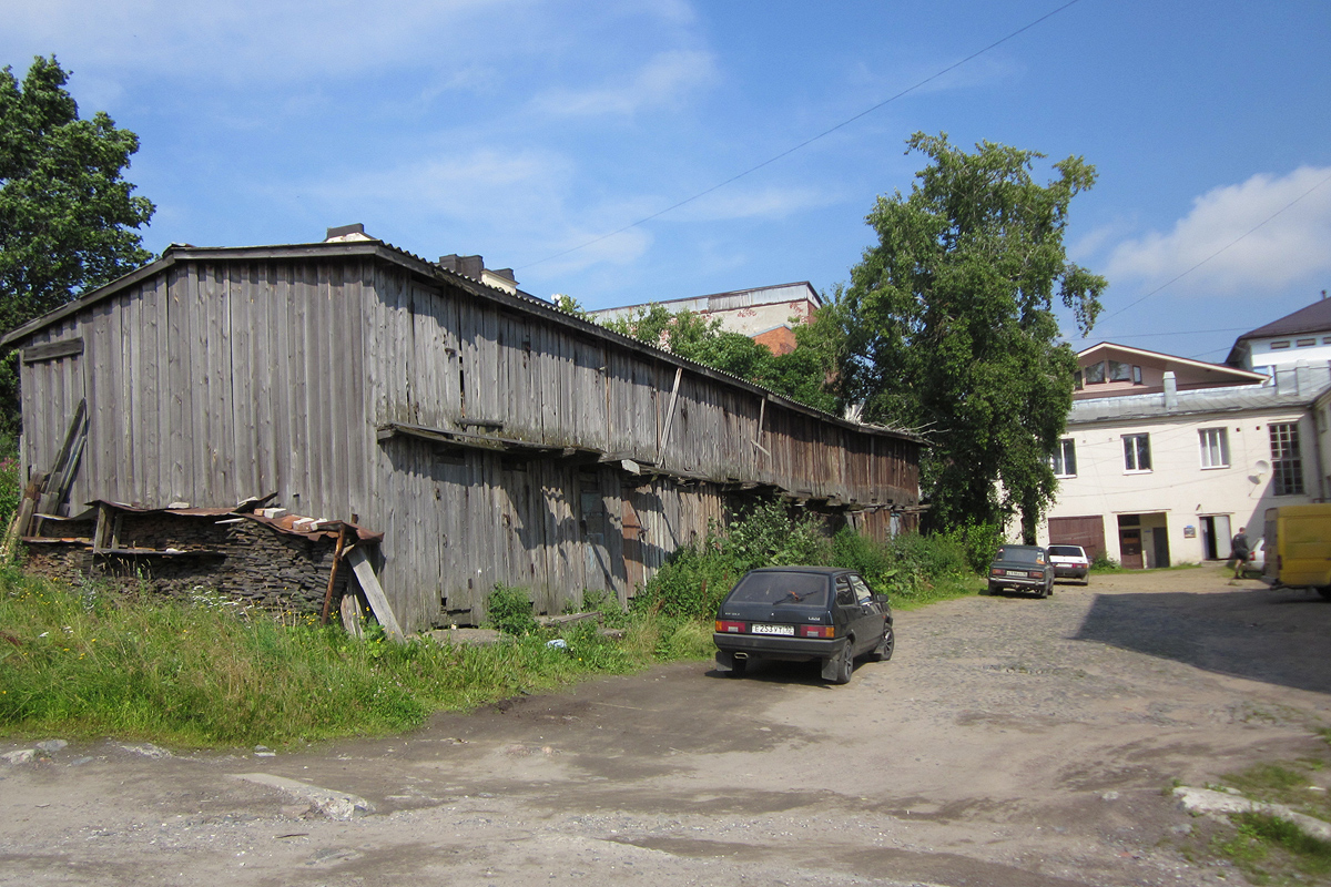 July 29, 2012. Sortavala. The Coastal Warehouse