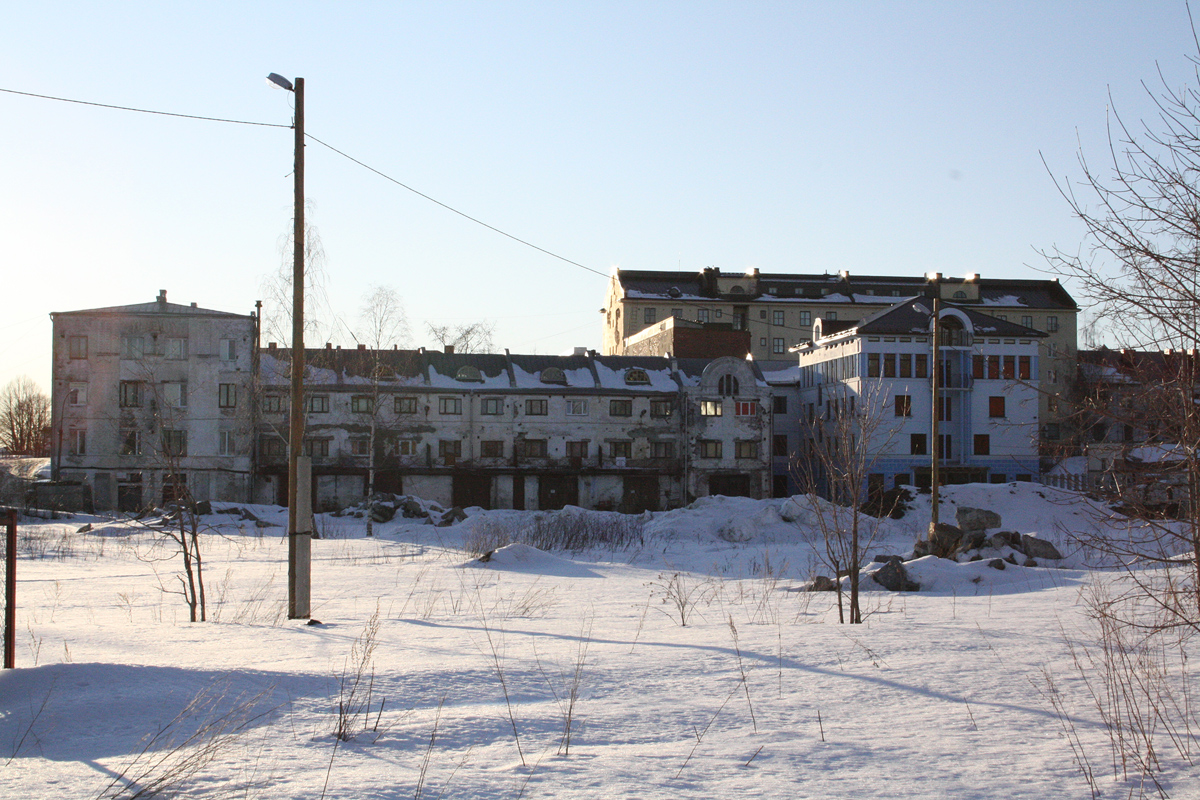 March 18, 2012. Sortavala. The Coastal Warehouse