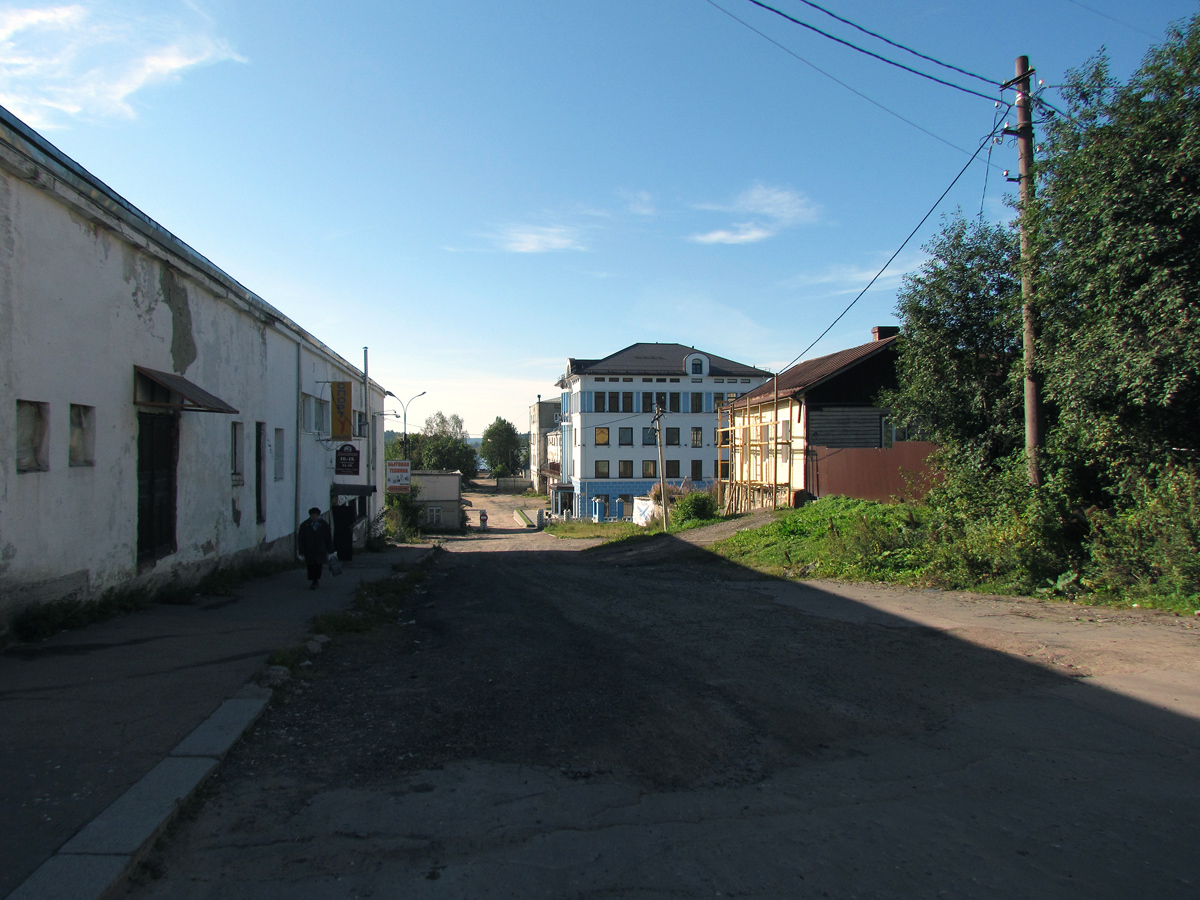 September 2014. Sortavala. The Coastal Warehouse