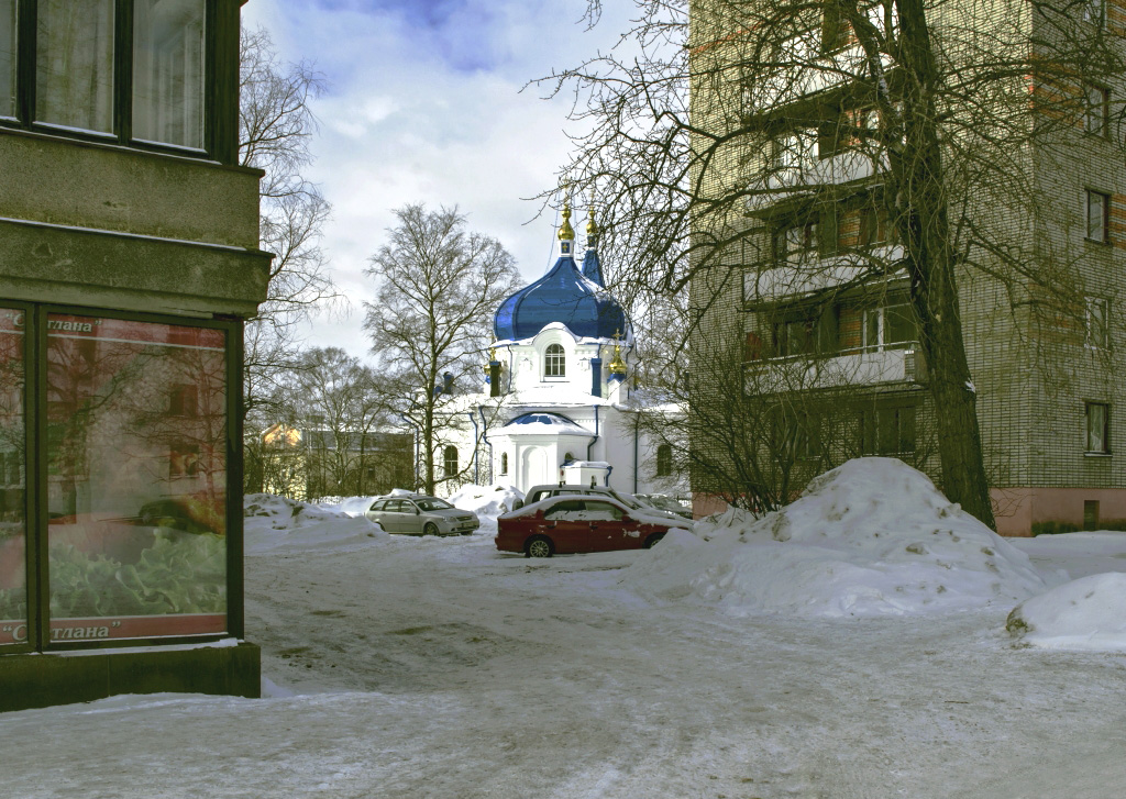 March 7, 2013. Sortavala. The Six-storyed Dwelling House
