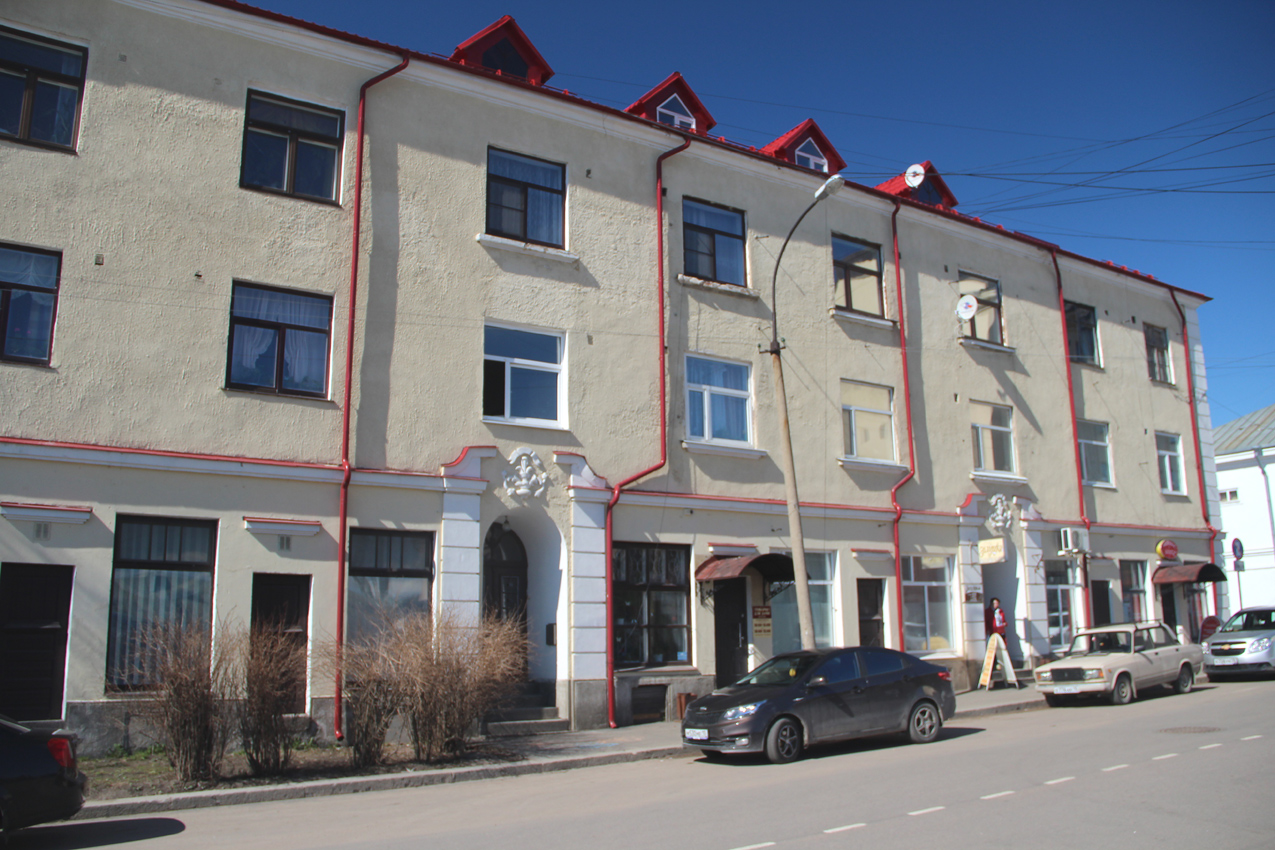 April 23, 2016. Sortavala - The Dwelling House With A Shop