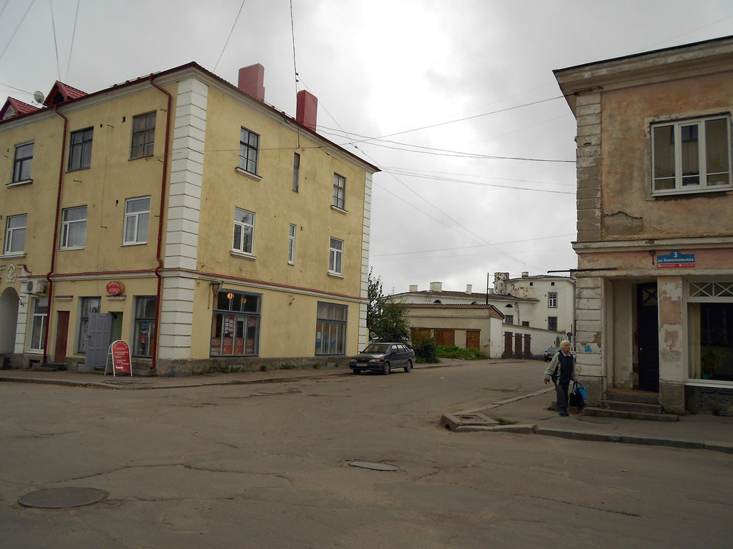 September 17, 2012. Sortavala - The Dwelling House With A Shop