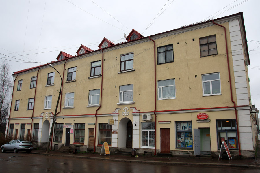 May 10, 2013. Sortavala - The Dwelling House With A Shop