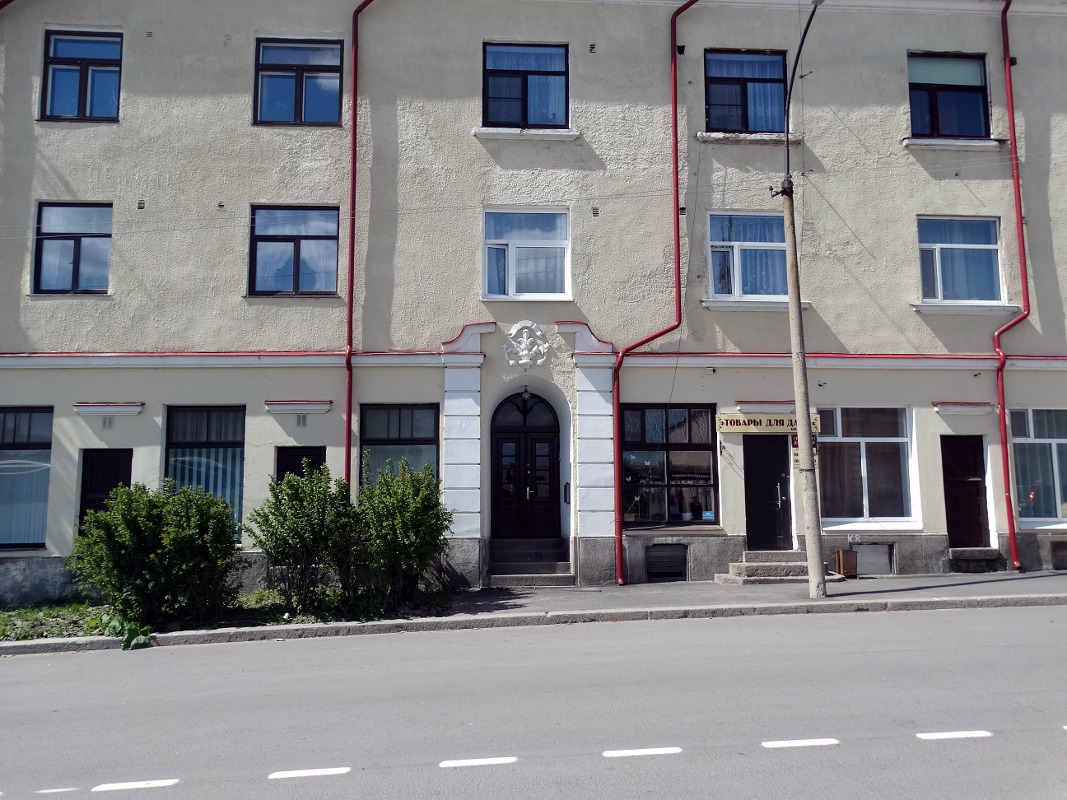 June 7, 2015. Sortavala - The Dwelling House With A Shop