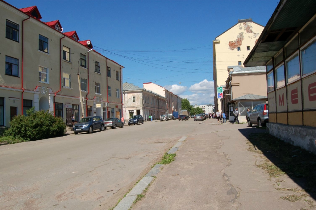 June 30, 2013. Sortavala - The Dwelling House With A Shop