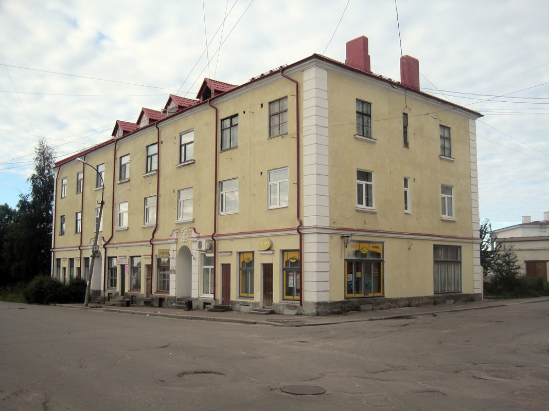 August 21, 2012. Sortavala - The Dwelling House With A Shop
