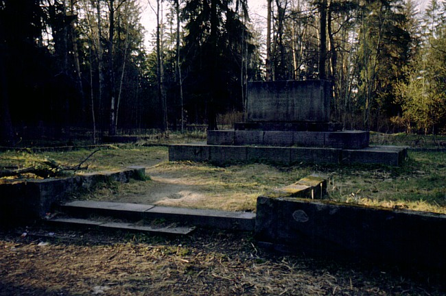 May 1999. Sortavala. Common Grave