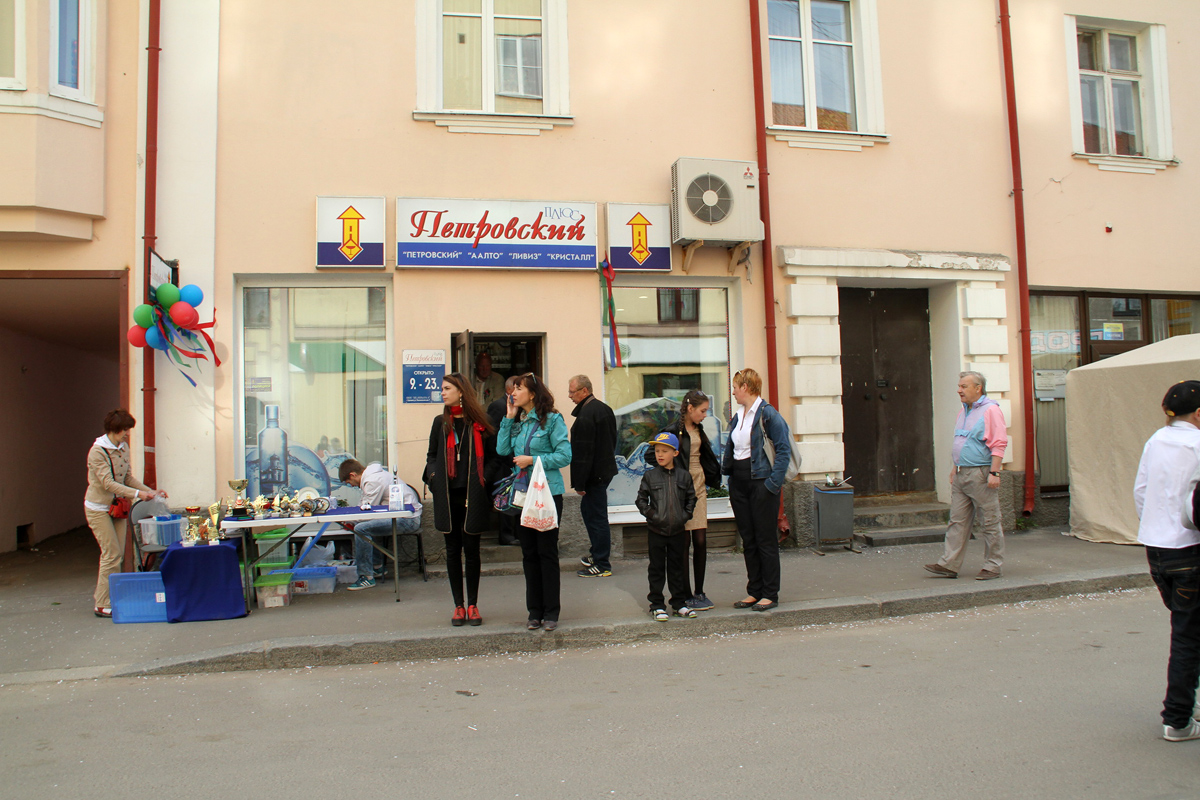 June 7, 2015. Sortavala. Shop