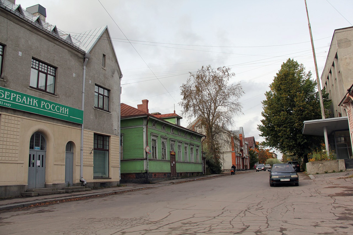 September 22, 2012. Sortavala. Leander's House