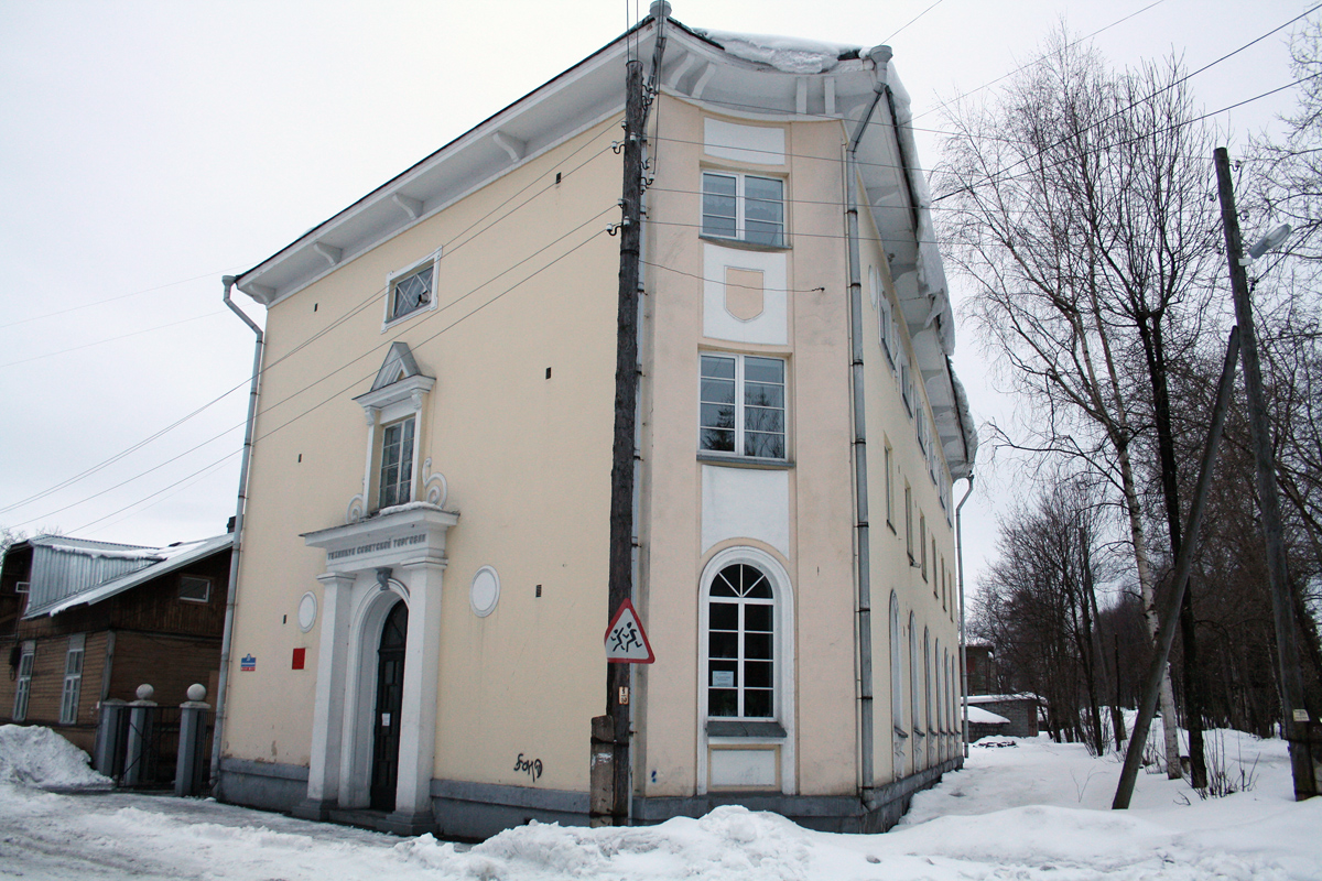 March 18, 2012. Sortavala. Former Suojeluskunta building
