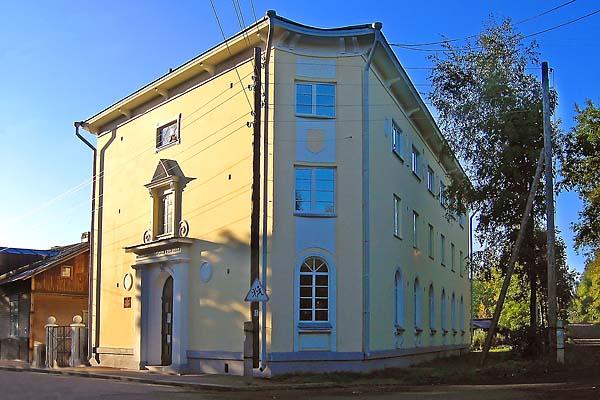 Syyskuu 2006. Sortavala. Entinen suojeluskuntatalo
