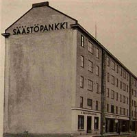 1930. Sortavala. Savings bank