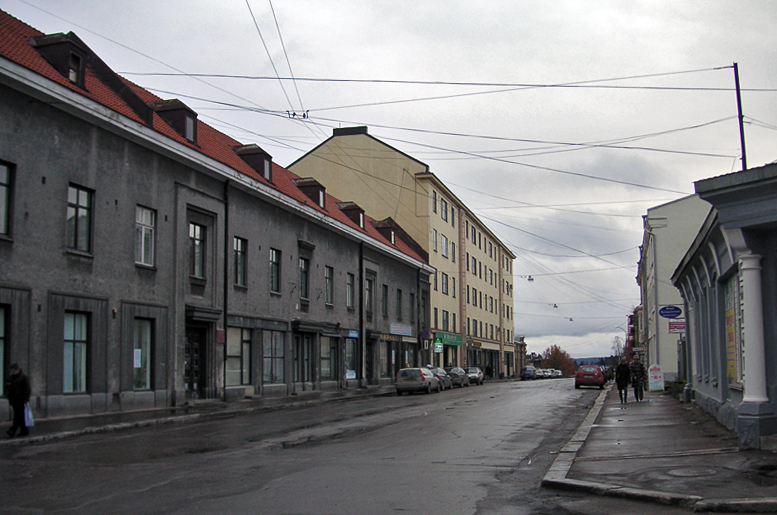 April 2012. Sortavala. Savings bank
