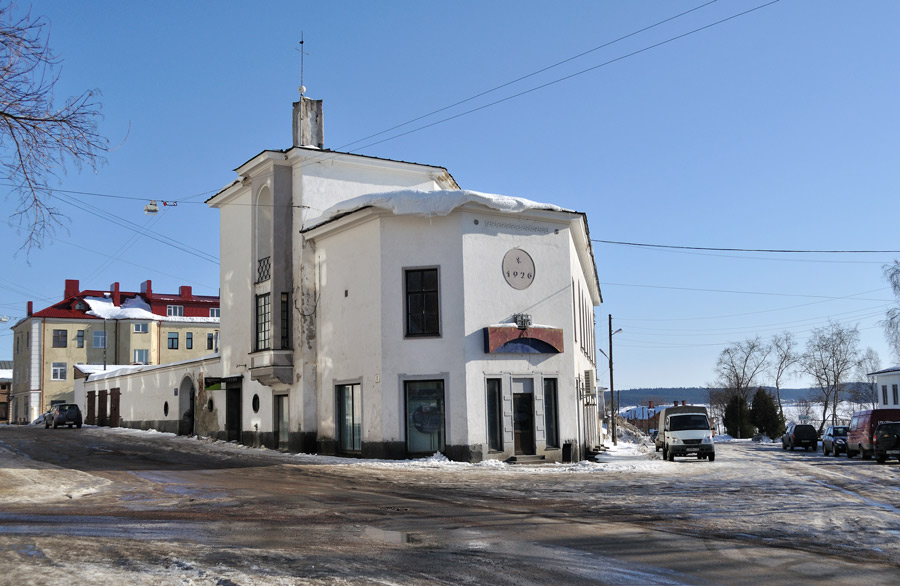 March 2012. Sortavala. The Restaurant