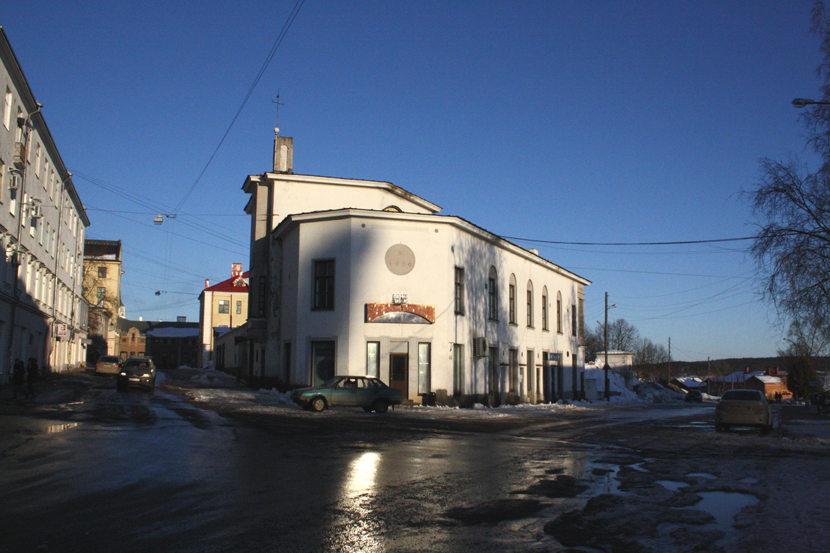 March 18, 2012. Sortavala. The Restaurant