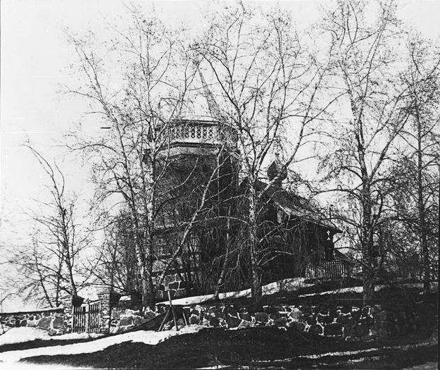 1928. Miikkulan kirkko Rantueessa