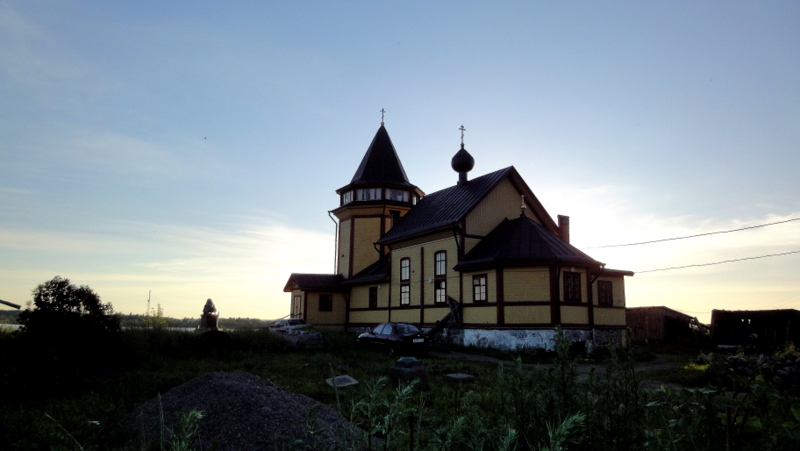 June 28, 2011. St.Nicolas church in Rantue