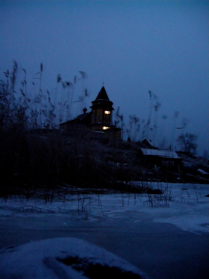 January 5, 2008. St.Nicolas church in Rantue