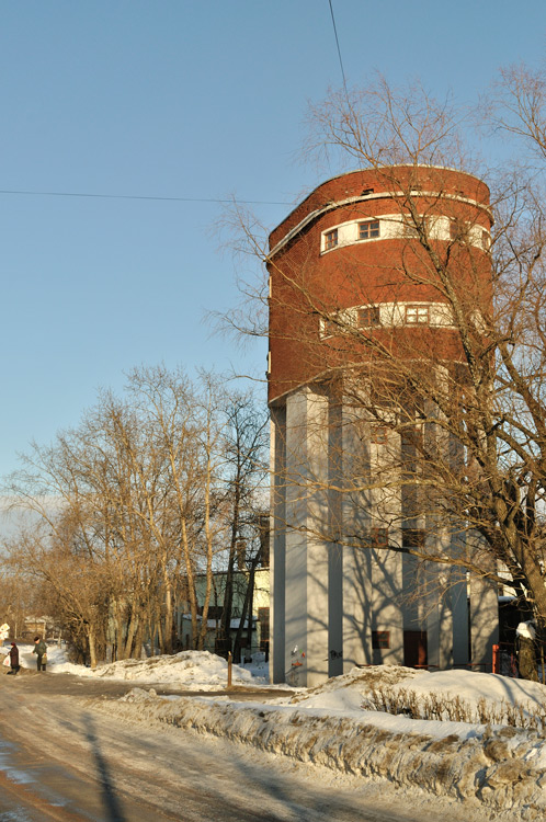 March 2012. Sortavala. Water tower