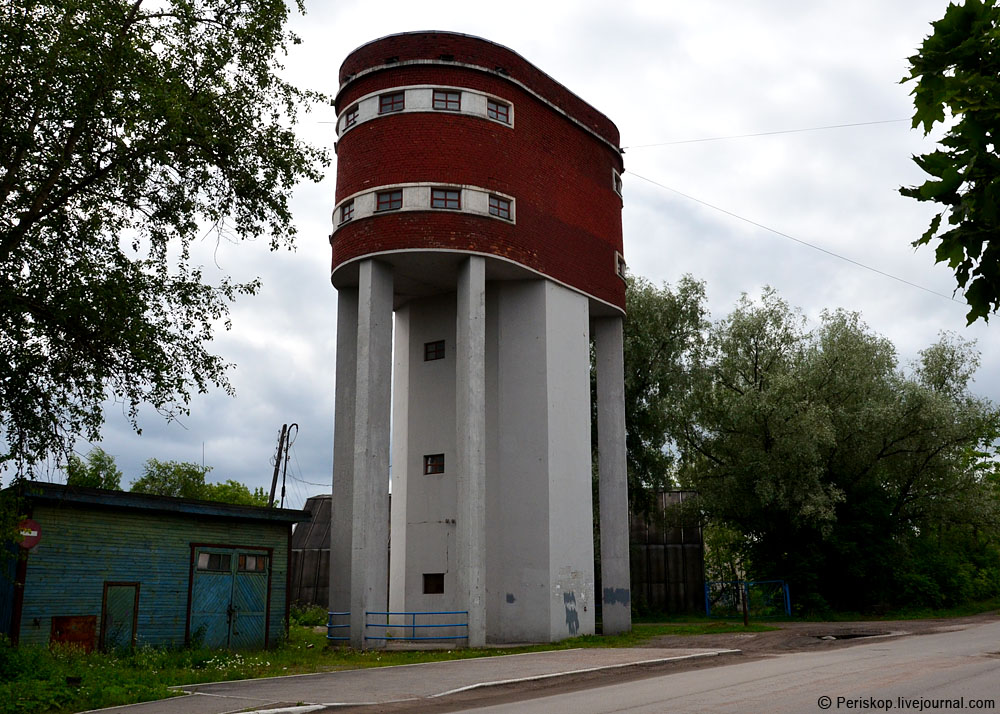 July 25, 2015. Sortavala. Water tower