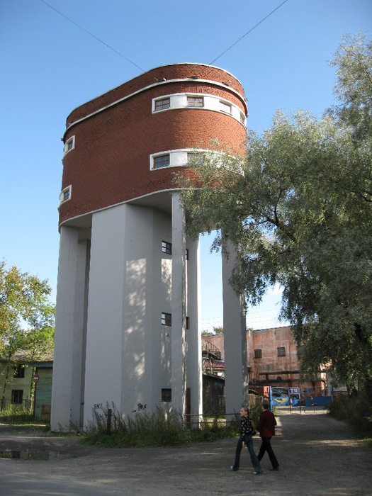 September 2009. Sortavala. Water tower