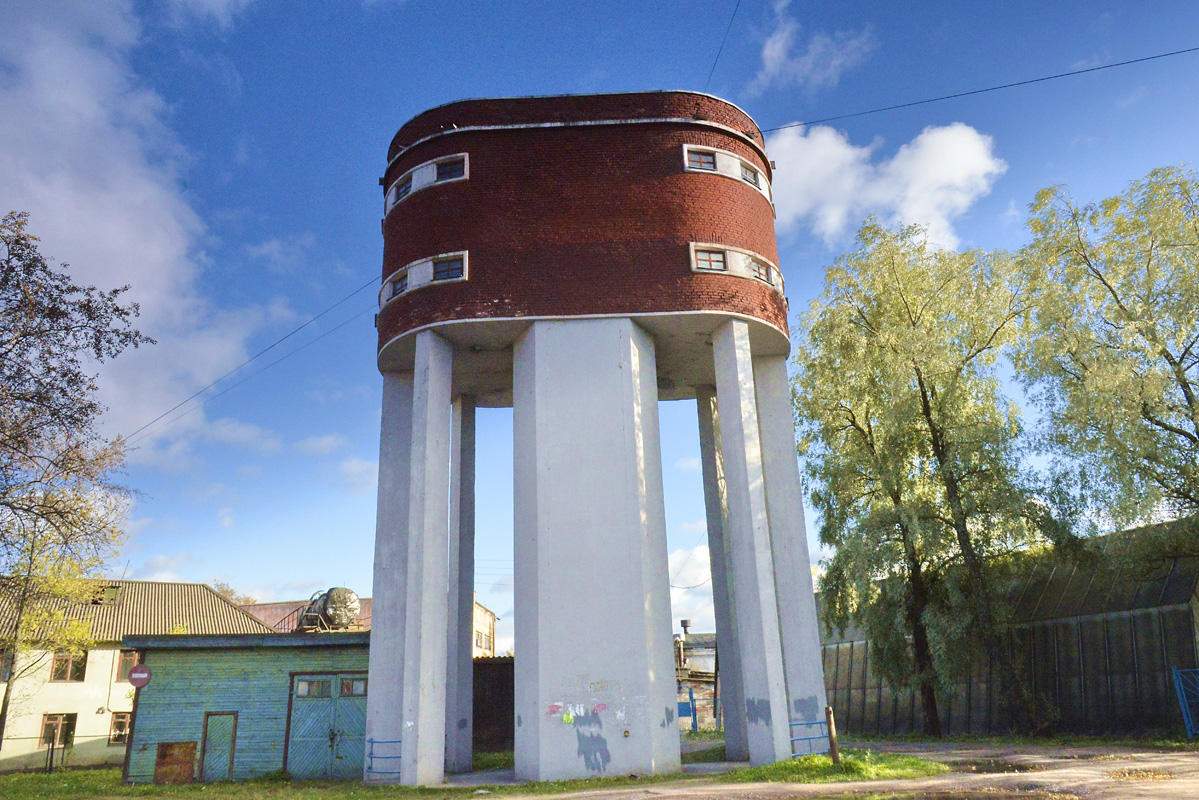 October 5, 2015. Sortavala. Water tower