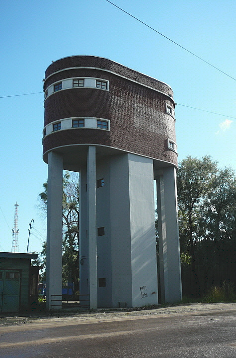August 14, 2008. Sortavala. Water tower