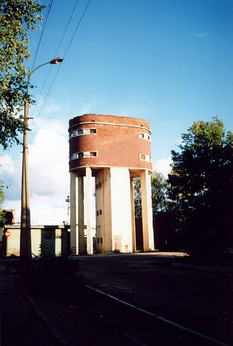 August 14, 2001. Sortavala. Water tower