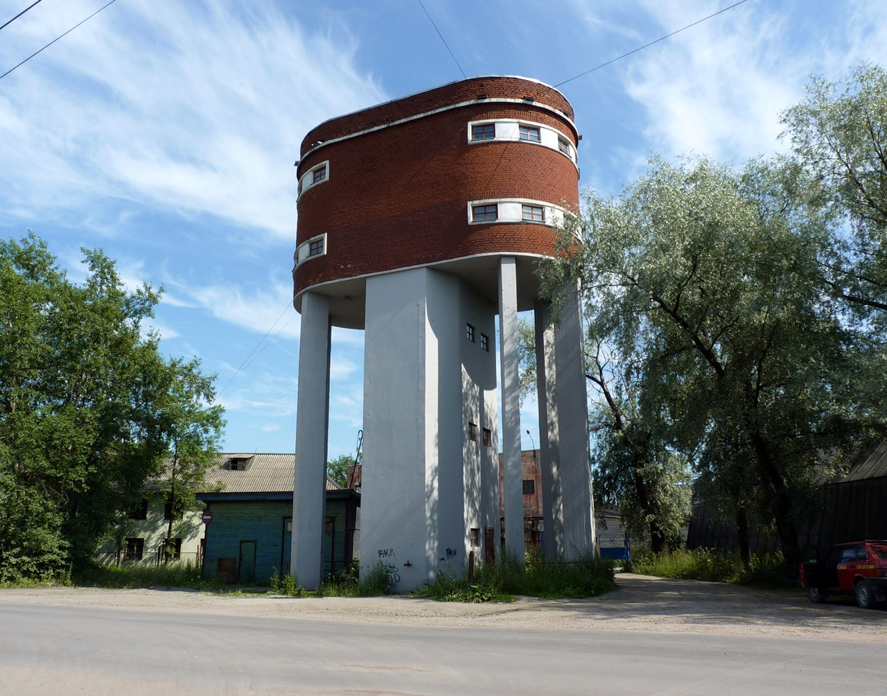 July 10, 2011. Sortavala. Water tower