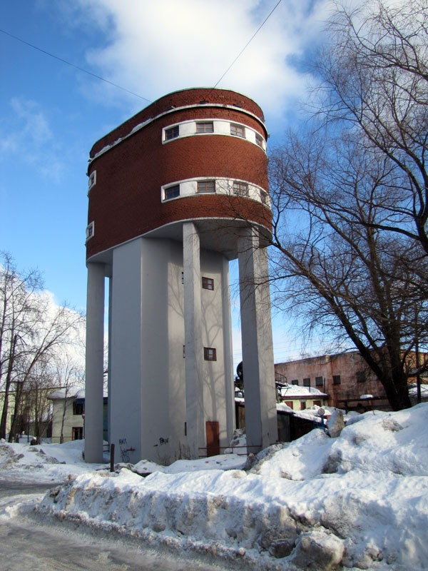 March 2010. Sortavala. Water tower