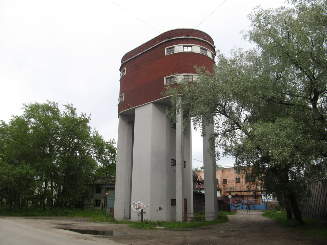 June 16, 2013. Sortavala. Water tower