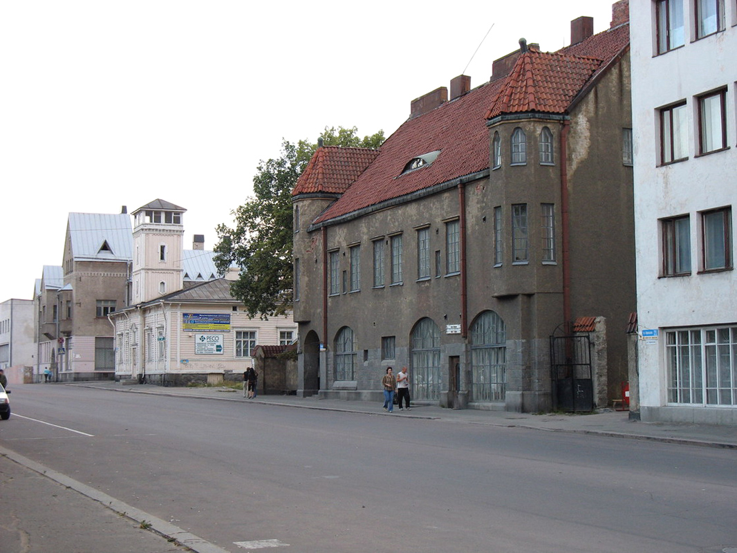 August 2006. Sortavala. The United Bank of the Northern Countries