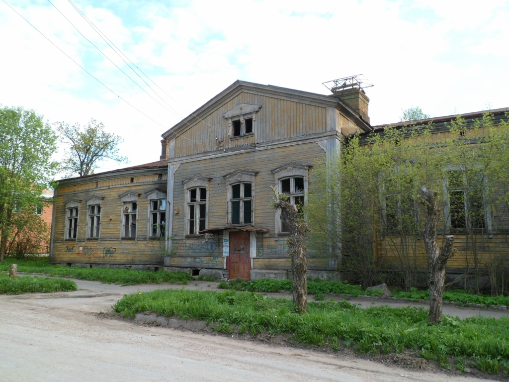 May 27, 2012. Sortavala - Building of former teacher's exseminary
