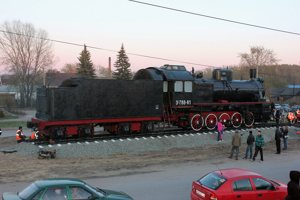 May 15, 2015. Sortavala. Steam locomotive ER−788-81