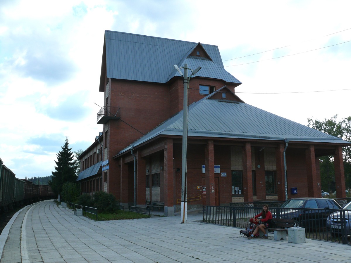 August 6, 2013. Sortavala. New Railway Station Building