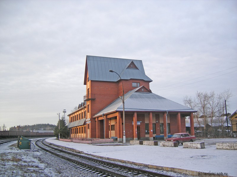 January 4, 2007. Sortavala. New Railway Station Building