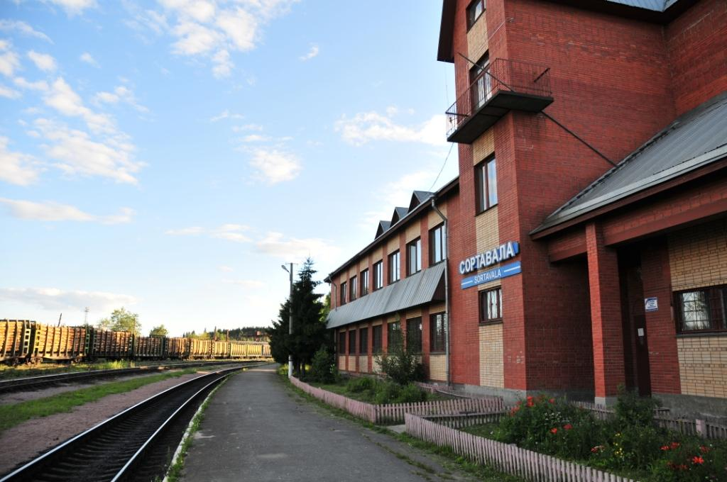 July 22, 2008. Sortavala. New Railway Station Building
