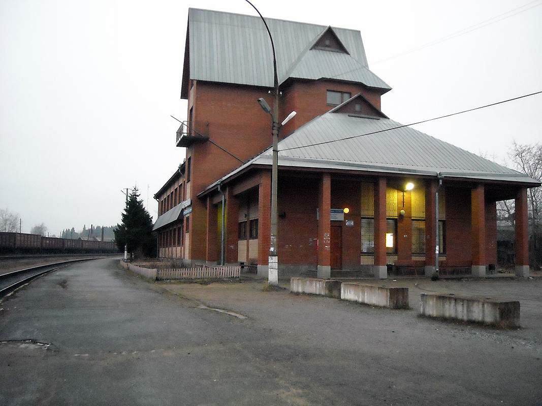 December 14, 2008. Sortavala. New Railway Station Building