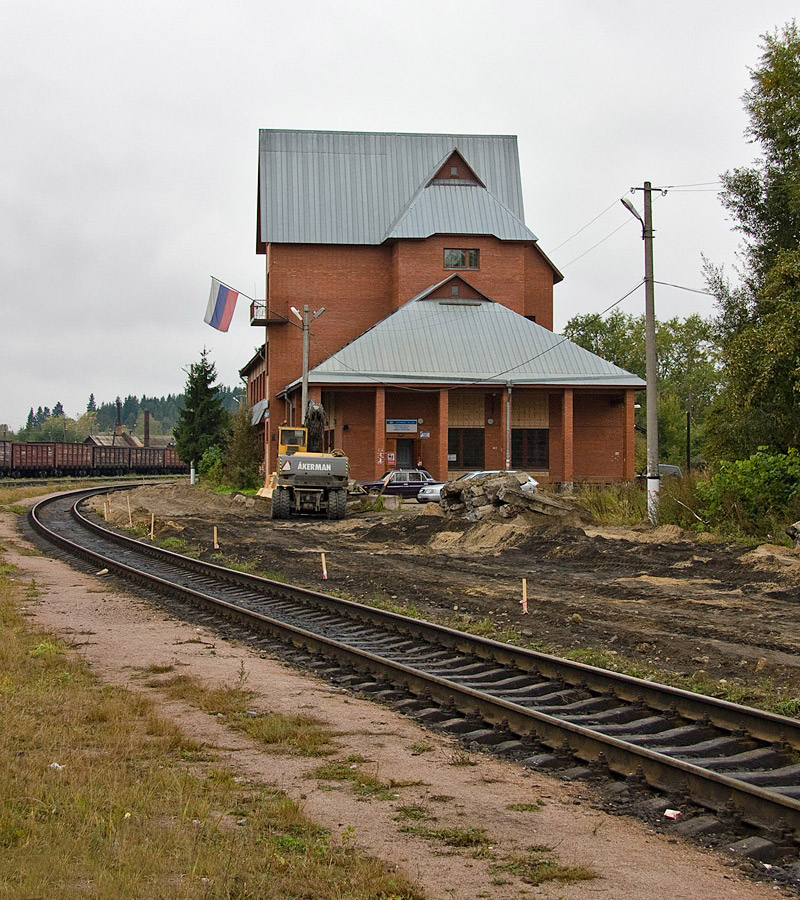 September 12, 2010. Sortavala. New Railway Station Building