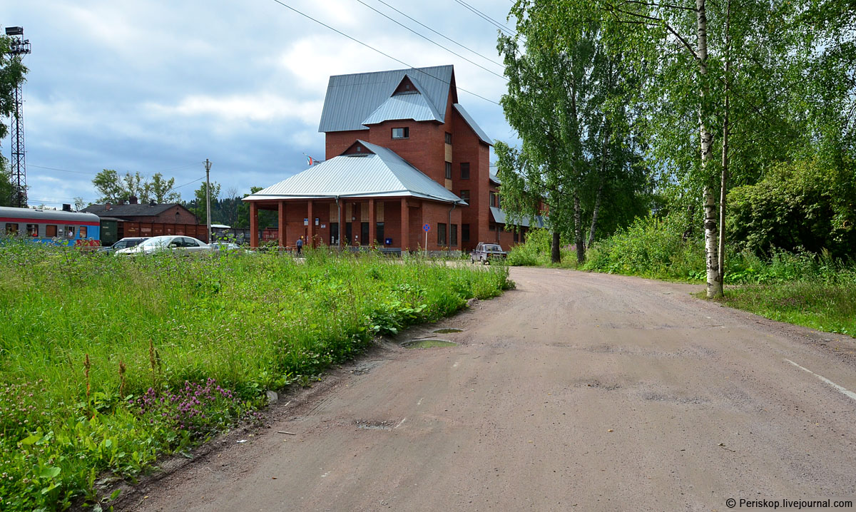 July 25, 2015. Sortavala. New Railway Station Building