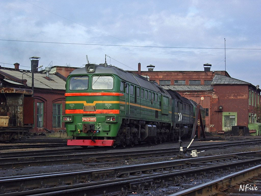 November 4, 2005. Sortavala. Railway Station
