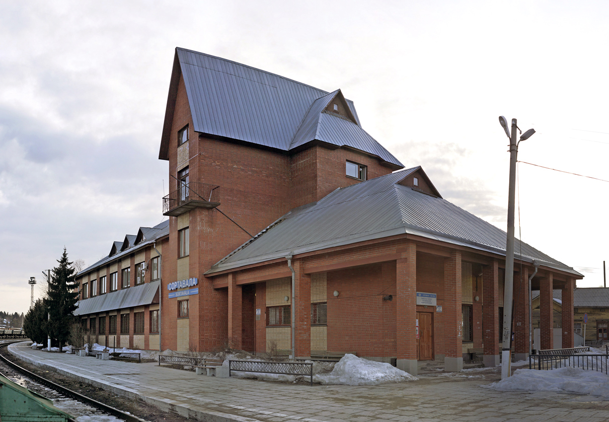 April 11, 2013. Sortavala. New Railway Station Building