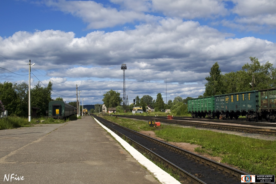 June 27, 2010. Sortavala. Railway Station