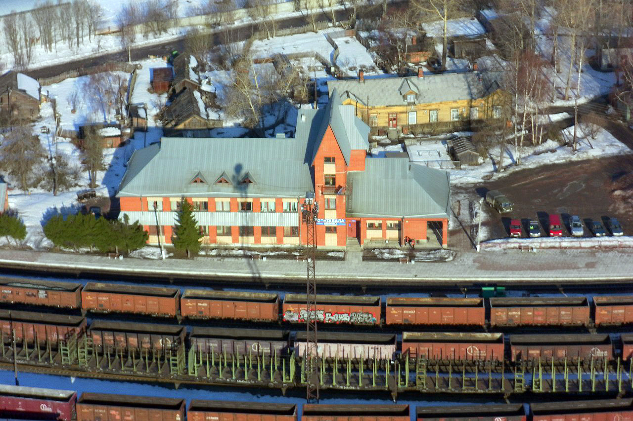 Early 2010's. Sortavala. New Railway Station Building