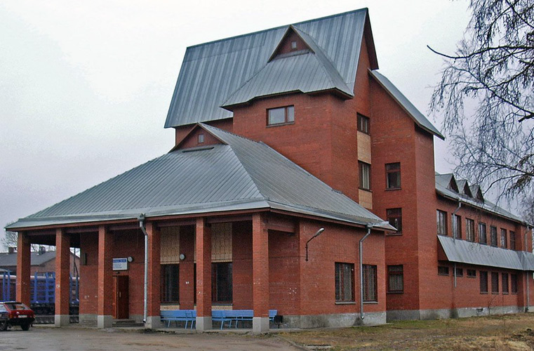May 8, 2005. Sortavala. New Railway Station Building