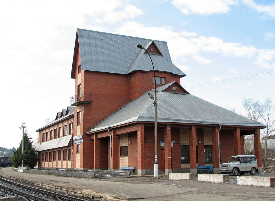 April 16, 2006. Sortavala. New Railway Station Building