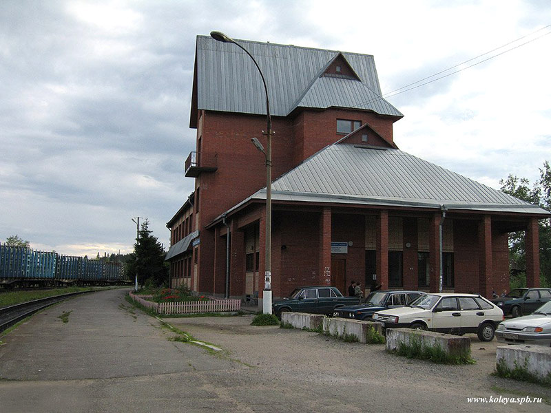 June 30, 2007. Sortavala. New Railway Station Building