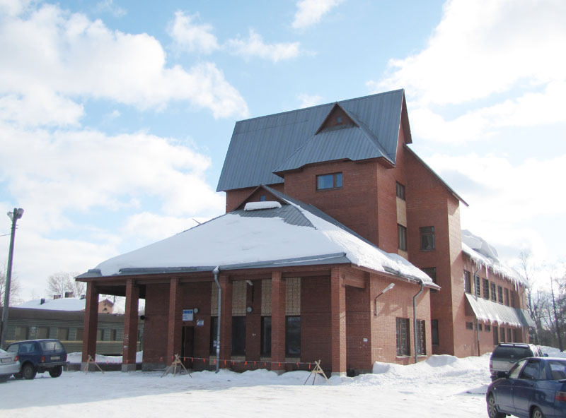 March 12, 2010. Sortavala. New Railway Station Building